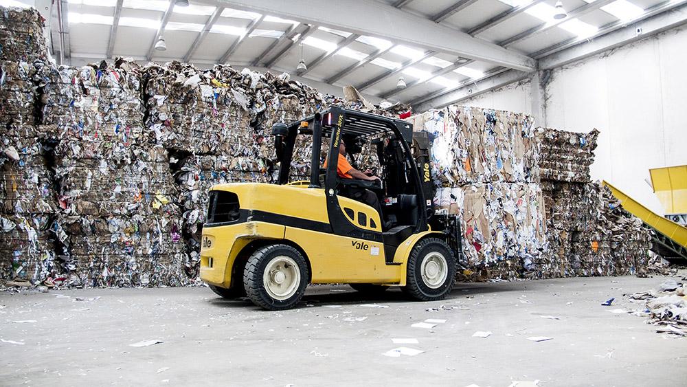 Stivuitor Diesel Yale 5000 kg